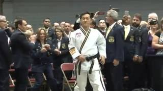 Chief Master GK Lee 9th Degree Testing