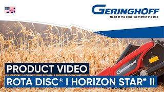 Product video Rota-Disc & Horizon Star II