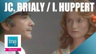 """Jean-Claude Brialy Isabelle Huppert """"Le ciel est bleu sur l"""