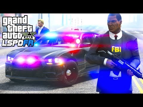 GTA 5 - LSPDFR Ep377 - Federal Agents in Action!!
