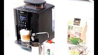 Ekspres do kawy KRUPS EA8160 z młynkiem - super latte i cappuccino