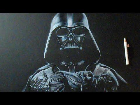 Como Desenhar Darth Vader Do Star Wars Guerra Nas Estrelas Youtube