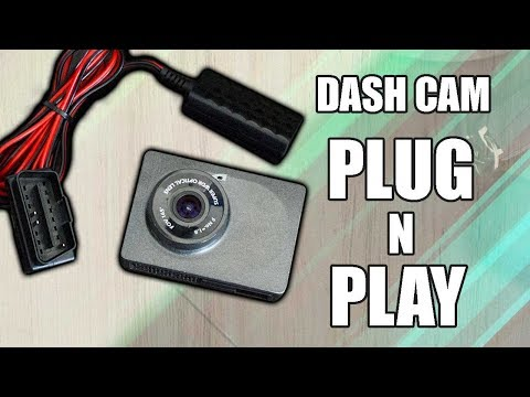 Fast And Cheap Way To Install - Dash Cam To Any Car. -NO FULES TAPPING REQUIRE.