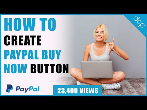 How To Create A PayPal Buy Now Button - [ Take Payments Online ]