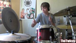 Red Hot Chili Peppers - She Looks To Me - Drumcover [HD] Thumbnail
