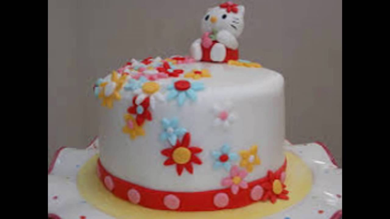 10 Ideas Para Decorar Tortas O Pasteles Infantiles Youtube - Decoracion-de-tortas-infantiles