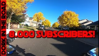 Thank You For 8000 Subscribers! + Channel Update: Upcoming Videos, Reviews, and Lost Camping Video