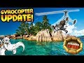 NEW GYROCOPTER UPDATE!!! - Let's Play Stranded Deep Gameplay
