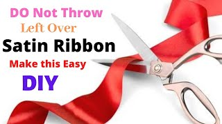 EASY RIBBON Flower | Ribbon Craft | DIY | Aloha Crafts Do you think...