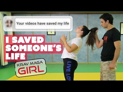 Krav Maga Girl | I Saved Someone's Life | True Story