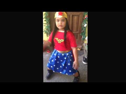 Wonder Woman costume! Buday 6yrs old