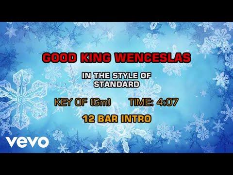 Traditional Christmas Songs - Good King Wenceslas (Karaoke)