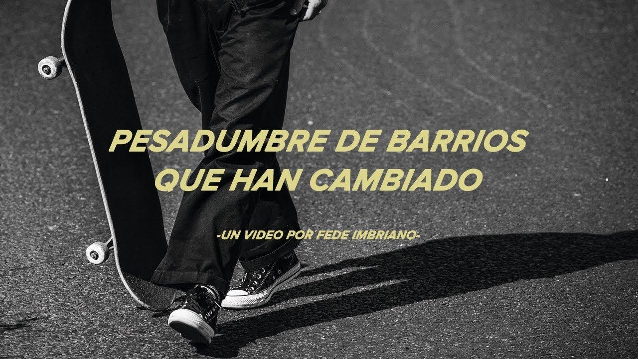 CONVERSE CONS - PESADUMBRE DE BARRIOS QUE HAN CAMBIADO.