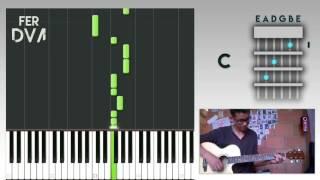 Silvestre Dangond - Ya no me duele mas (Tutorial | Cover Gutarra | Piano by FER DVA)