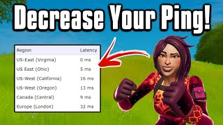 This Video Will Lower Your Ping On Console + PC! - Fortnite Network Optimization Guide!