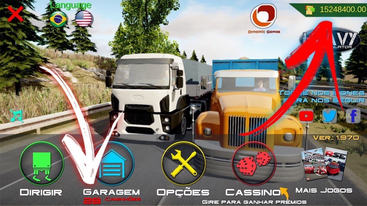 Heavy Truck Simulator 1 971 Apk Mod Hack Dinheiro Infinito