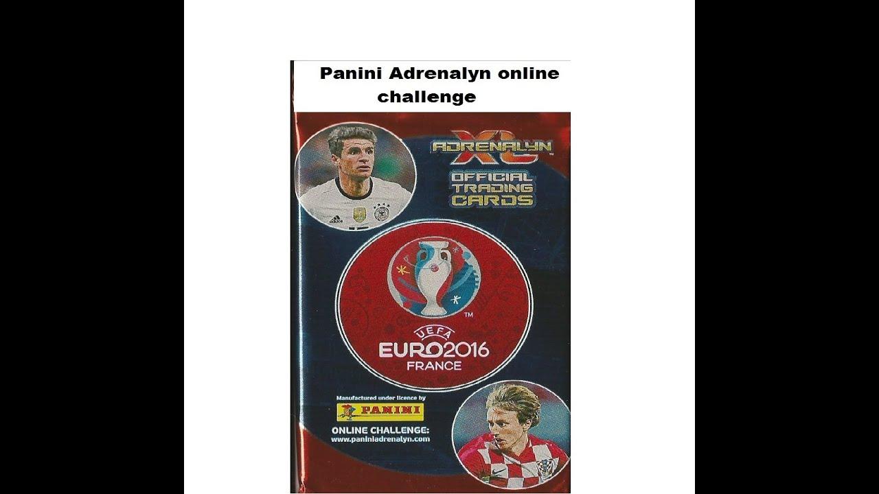 Panini Adrenalyn Xl Euro 2016 France Online Challenge Game Youtube