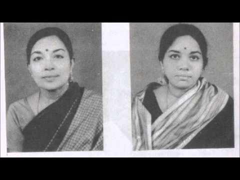 Smt Radha & Smt  Jayalaxmi  Nitham Oru Tharam  Ragam Kharaharapriya