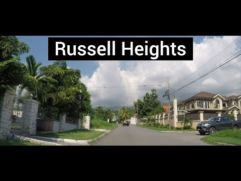 Russell Heights, Cherry Gardens, Kingston, Jamaica