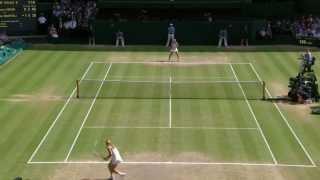 Wimbledon: Marion Bartoli wins Wimbledon 2013: Highlights v Sabine Lisicki