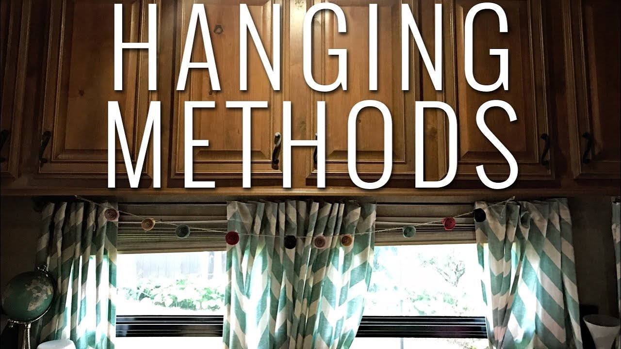Rv Curtains What Fabric To Use The Best Ways To Hang Them Youtube