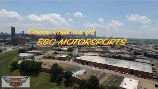 Aerial tour of BBC Motorsports