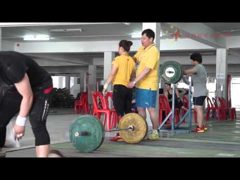 Female Chinese Team @ 2015 Asian Championships Training Hall - Sat Sept 5