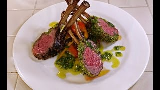 Rocking Roasted Rack Of Lamb