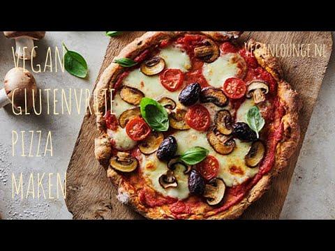 NIEUWE PIZZA OVEN TESTEN EN VEGAN PIZZA BAKKEN🍕