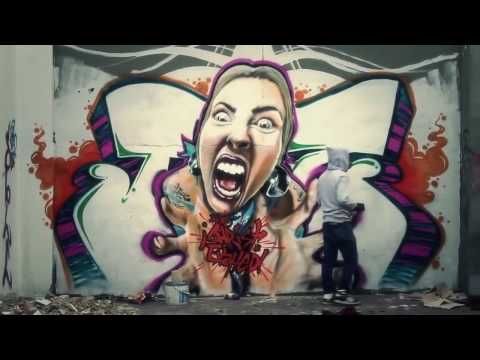 BEST GRAFFITI BOMBING (Graffiti 2017) - MURAL LEGAL
