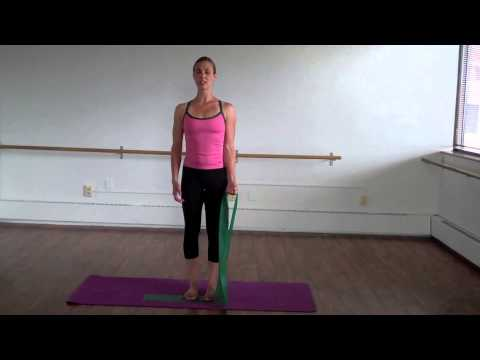 Theraband Arm workout