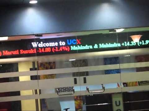 True Color Indoor LED Ticker in Corporate Offices