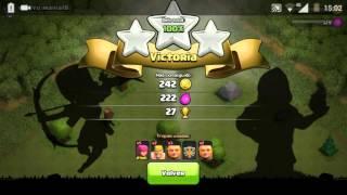 Cuenta pequeña en clash of clans !! Fackingcat544