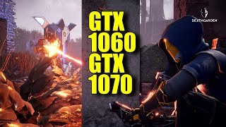 DEATHGARDEN GTX 1070 & GTX 1060 6GB OC (Closed Beta) 1080p Very High | FRAME-RATE TEST