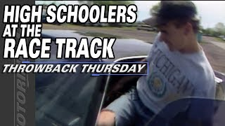 Throwback Thursday: High Schoolers at the Race Track!
