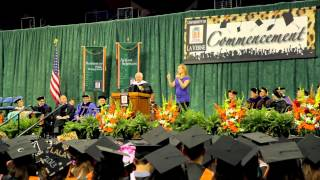 University of La Verne 2013 Commencement Speaker Tommy Lasorda
