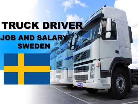 Truck Driver Salary >> Truck Driver Salary In Sweden Jobs And Salaries In Sweden