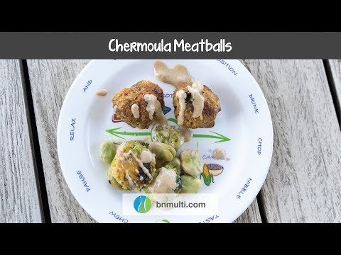 Chabula Meatballs With Brussels Sprouts #Bariatric Recipes