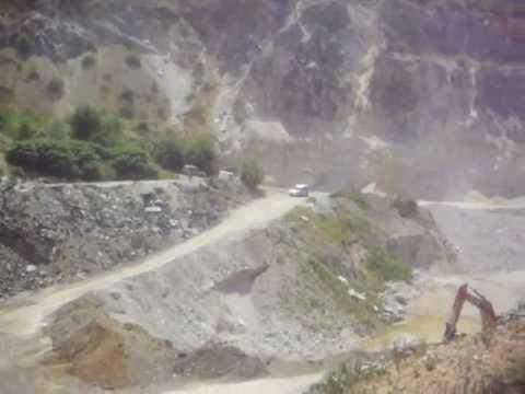 Geological Mining Company Minervo mining in Sostro (2012)
