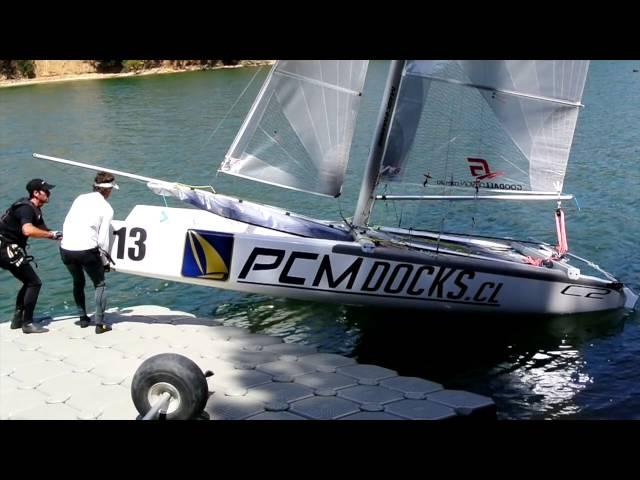 Rampla Flotante PCM Docks