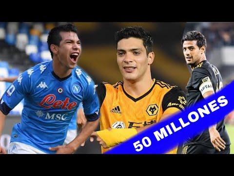 Download Los 10 futbolistas mexicanos más valiosos  *2021*