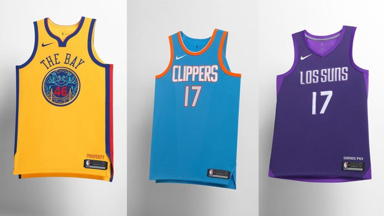 new nba jerseys