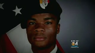 Family, Friends & Veterans Pay Their Respects At Viewing For Soldier Killed In Niger Ambush