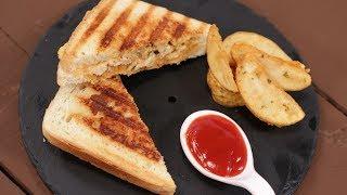 Grilled Chicken Sandwich | Recipes Under 15 Minutes | Chef Jaaie | Sanjeev Kapoor Khazana