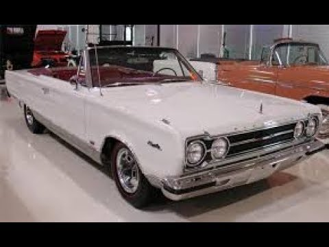 1967 plymouth convertible comes out of storage for repair.