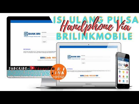 Cara Isi Pulsa Handphone Via BRILink Mobile