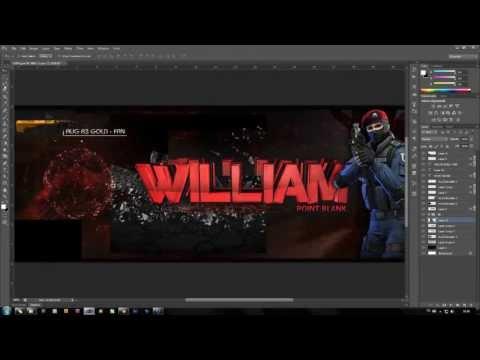 Speed Art Capa para Facebook - William (Point Blank)