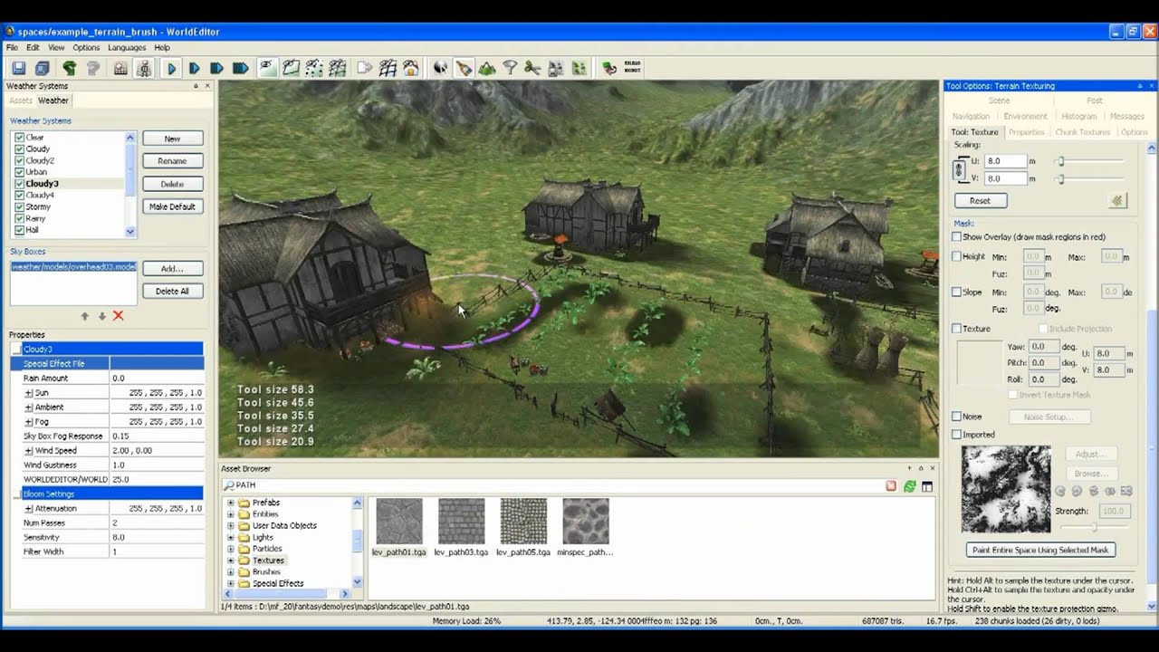 Bigworld tutorial world editor creating a town part 1 youtube bigworld tutorial world editor creating a town part 1 gumiabroncs Images