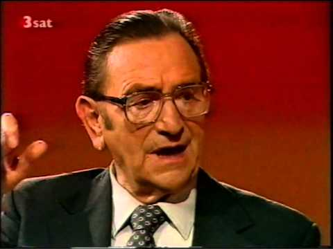 Josef Metternich - DaCapo - Interview with August Everding, 1986