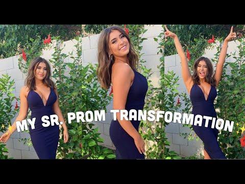 2019 Prom Transformation - Kalani Hilliker Vlog